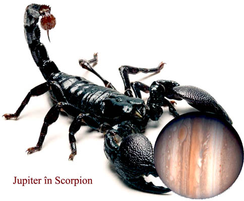 jupiter in scorpion